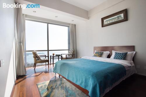 2 bedroom apartment. Qingdao at your feet!