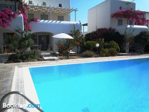 Family friendly apartment in Ornos in center