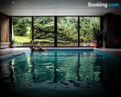 Place in Berchtesgaden with terrace and pool