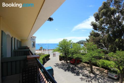 Terrace and internet apartment in Agay - Saint Raphael. 24m2!