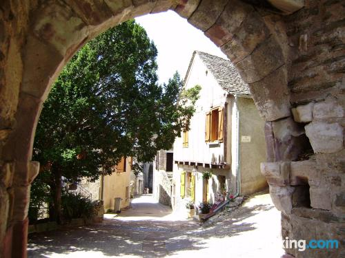 Apartment with air in incredible location of Najac