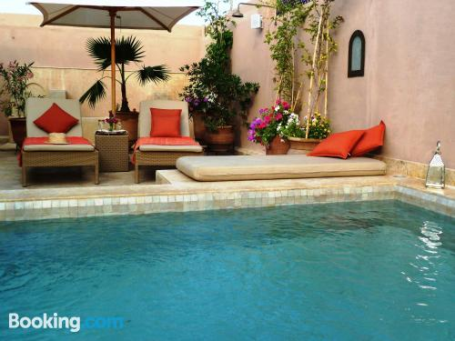 Place in Marrakech with swimming pool