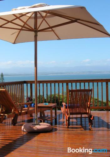 Place for 2 in Mossel Bay. Terrace!