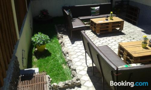 Apartment with terrace. For two people