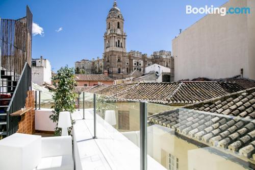 Apartamento con terraza en Málaga