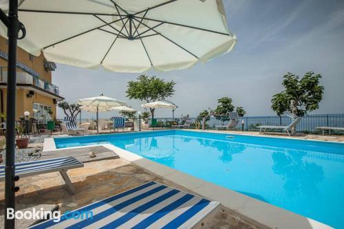 Cozy studio. Enjoy your swimming pool in Acquappesa!.