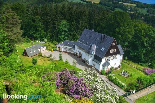 Home for 2. Thermalbad Wiesenbad is yours!