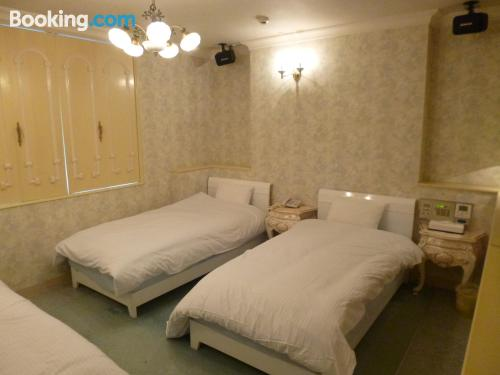 Place for couples in Okinawa City with heat and internet