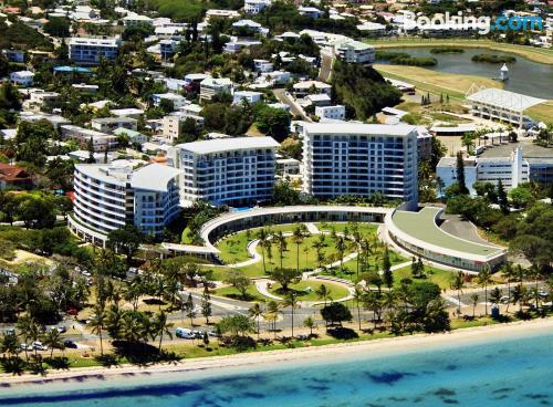 Apartment with internet. Noumea from your window!
