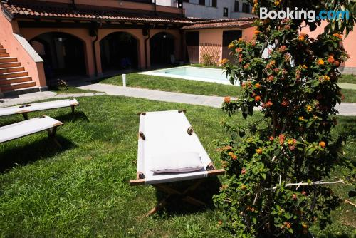 Terrace and wifi apartment in San Giuliano Milanese. 37m2!