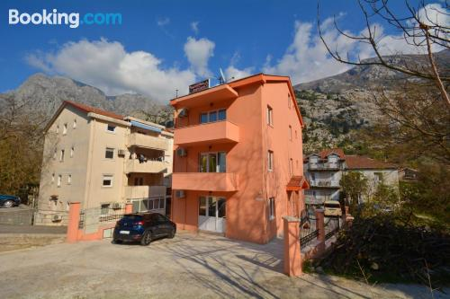 Place in Kotor with terrace