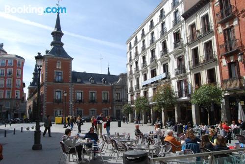 Apartamento con aire acondicionado en Madrid