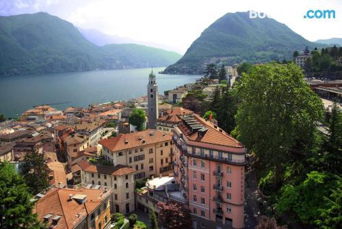 Apartamento con todo en Lugano. Con cuna