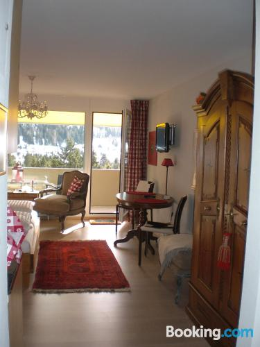 Home in Davos. For couples