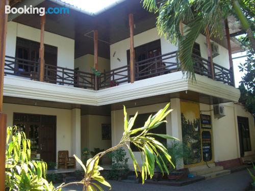 Apartamento con terraza y internet en Tulamben para dos personas