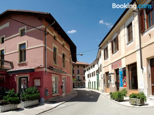 Tolmin place with terrace