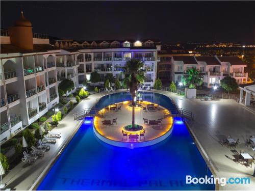Apartment with terrace. Swimming pool!