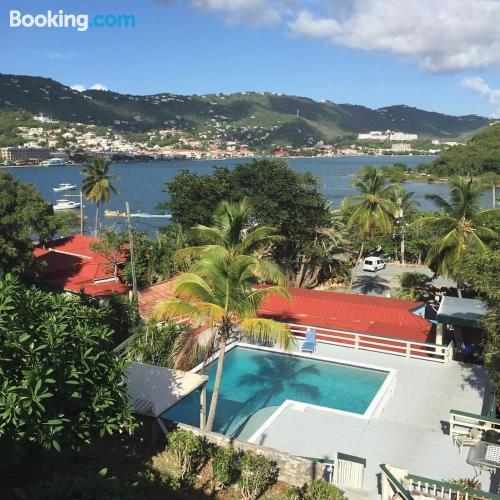 Pequeño apartamento parejas en Charlotte Amalie