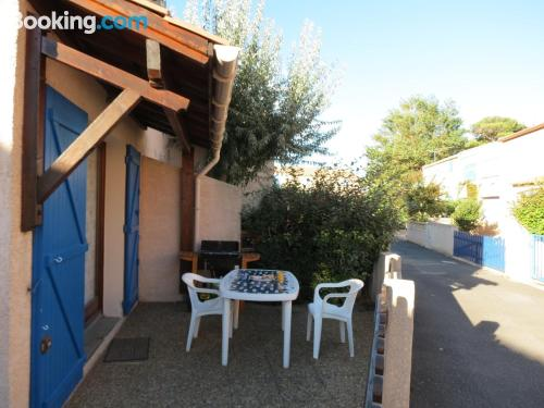 Pets allowed home in Portiragnes with terrace