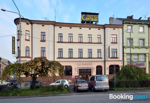 In Český Těšín. Small!