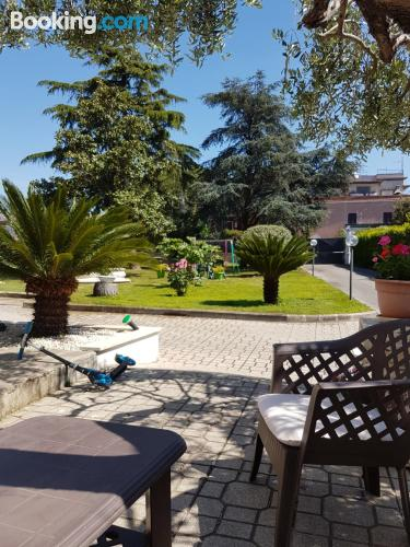 Place in Frascati. Good choice for two people!