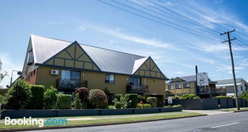 Apartamento de 25m2 en Coffs Harbour con calefacción y wifi.