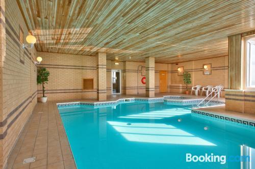 Apartamento con piscina para una persona