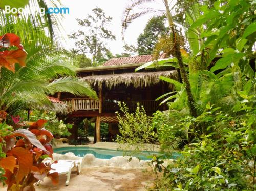 Home for 2 people in Puerto Viejo with terrace.