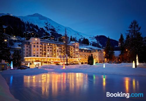 Place in Davos with internet