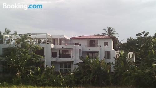 Apartamento con todo con terraza