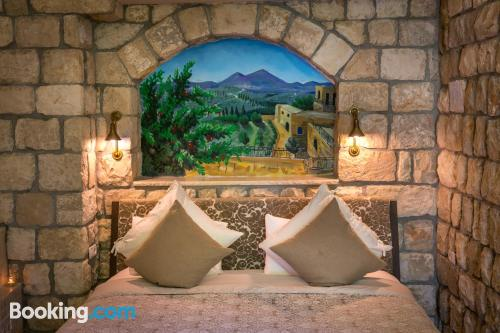 Apartment for two in Safed. Be cool, there\s air-con!