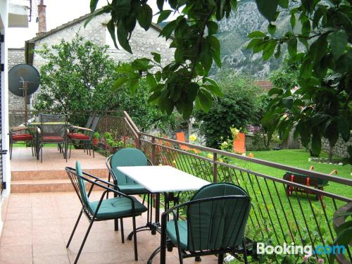 Petite place in Kotor with terrace