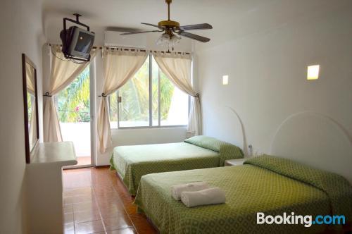 2 room apartment in Santa Cruz Huatulco. Good choice for six or more