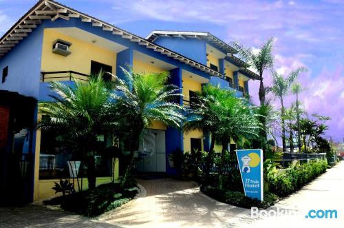 Homey home. Enjoy your pool in Bertioga!