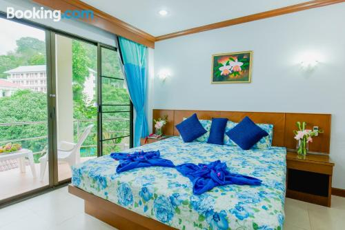 Place for couples in Patong Beach with terrace