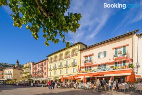 Place in Ascona with terrace and wifi