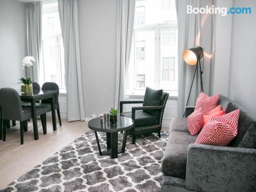 Cuco apartamento en Oslo. ¡27m2!