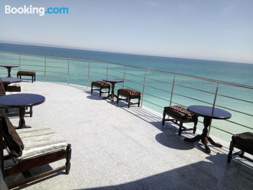 Apartment for 2 people in Costinesti. Air-con!