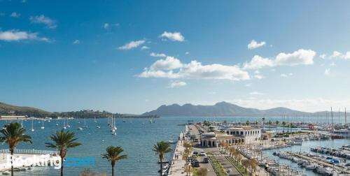 Place for two people in Port de Pollensa. 23m2.