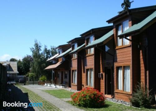 Apartamento en miniatura en Valdivia con conexión a internet y terraza