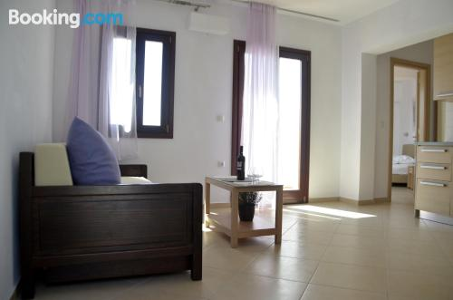Spacious place in Agia Anna Naxos with heat