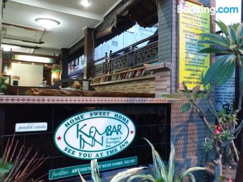 Estudio con todo en zona centro de Padangbai