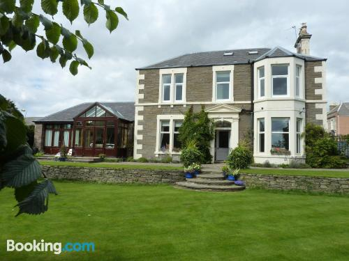 Home with terrace in Carnoustie.