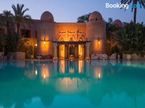 Place for 2 people in Marrakech with heating