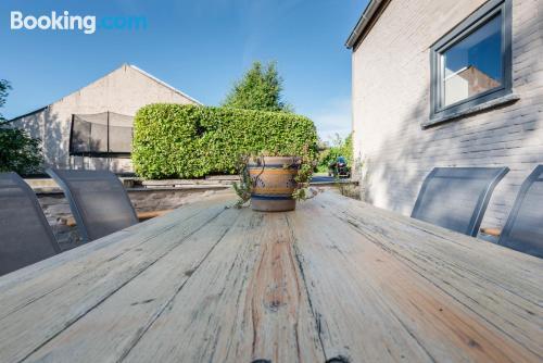 Place in Nieuwpoort. Terrace!