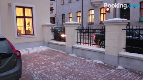 Apartamento acogedor dos personas con calefacción