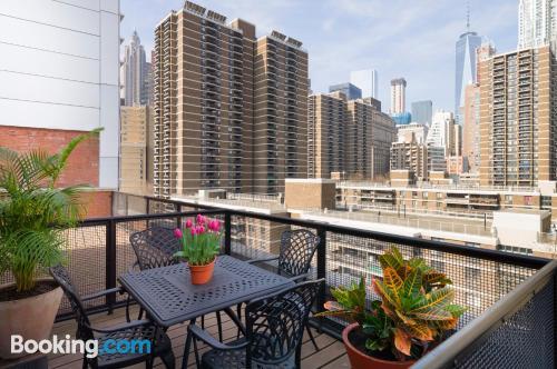 Práctico apartamento parejas en Nueva York