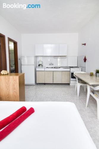 Apartamento con aire acondicionado en Slatine