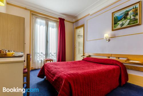 Paris place with heat
