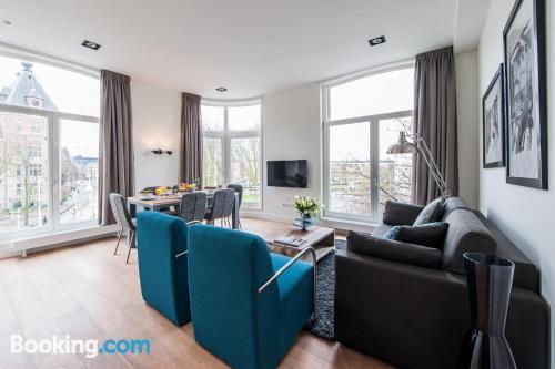 65m2 apartment in Amsterdam. Wifi!